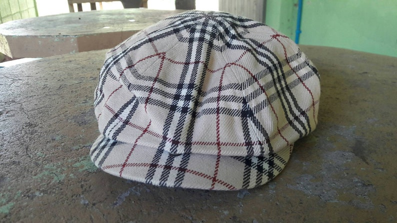 21995248 90s Burberry London Blue Label newsboy cap made in japan / | Etsy