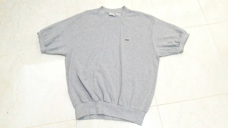 90s Lacoste short sleeve Sweatshirt size M made in Japan    618d1d7fe7