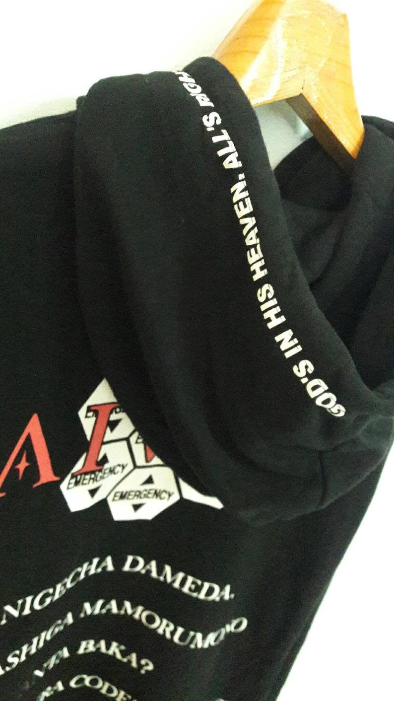 df11939c0dc23 Casper John Aiver Hoodie Sweatshirt size M Japanese brand