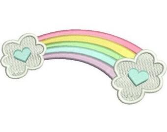Rainbow embroidery | Etsy on rainbow tree, rainbow company, rainbow crane, rainbow golf,