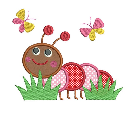 Applique con macchina da ricamo: elefante con design apple applique
