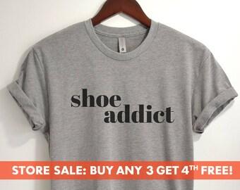 2afca0bde74e38 Shoe Addict T-shirt