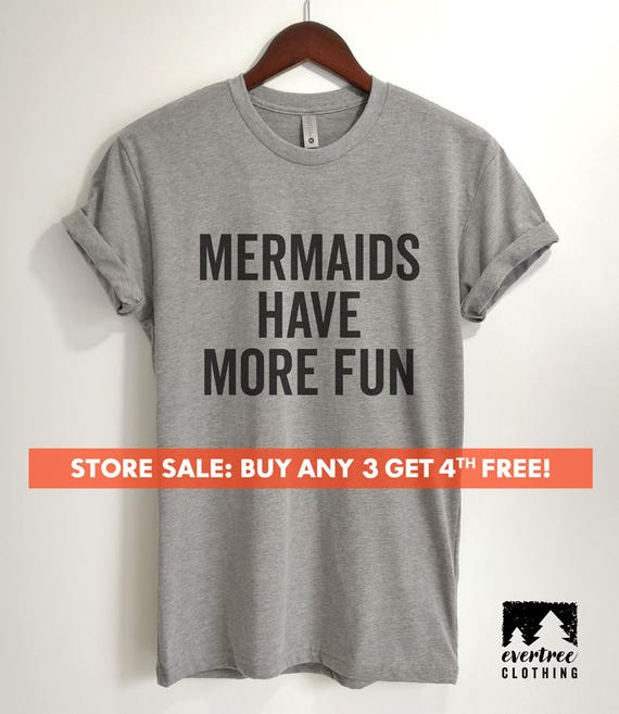 Mermaid Mama Crew Neck T-Shirt for Women