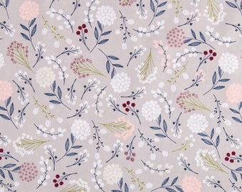 Berry Leaves Apparel Cotton fabric
