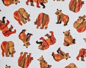 Beary Happy Bear by Andover Fabrics