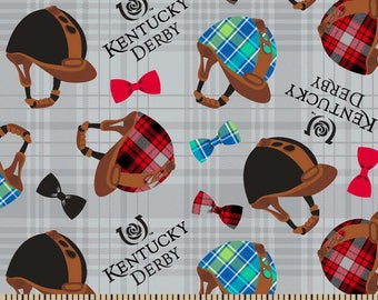 Kentucky Derby Helmets and Bows by Springs Creative Fabrics