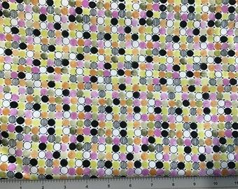 Fun Dots  Cotton fabric