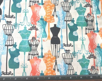 Dress Forms Cotton fabric