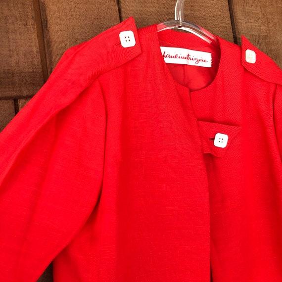 Vintage Red Haulinetrigere Jacket   Pauline Trige… - image 1