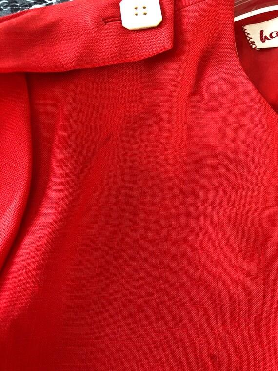 Vintage Red Haulinetrigere Jacket   Pauline Trige… - image 8
