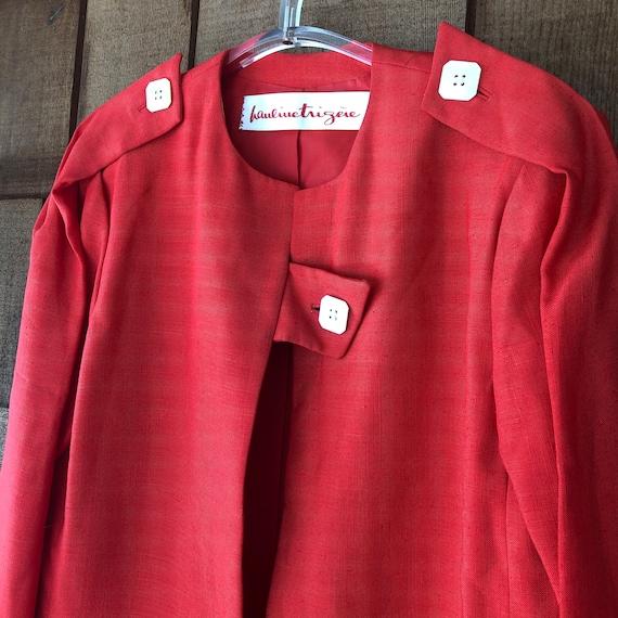 Vintage Red Haulinetrigere Jacket   Pauline Trige… - image 2