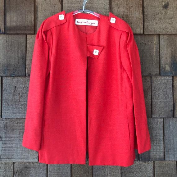 Vintage Red Haulinetrigere Jacket   Pauline Trige… - image 3