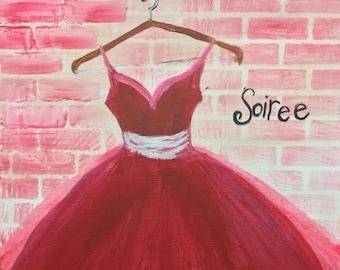 Teen/Adult Acrylic Painting Kit Prom Night