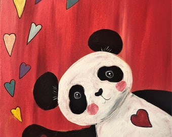 """Mixed Media Art Kit - Spreading the Love - Children - 11"""" X 14"""""""