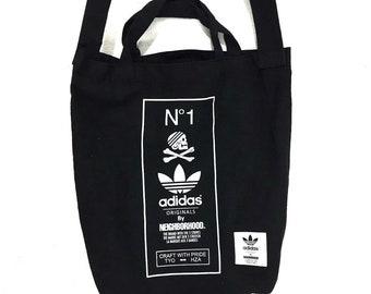 a9de1ac58f ADIDAS ORIGINALS x NEIGHBORHOOD Tote Bag Cross body Sling nbhd Trefoil 3  Stripes Skull