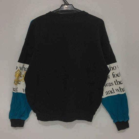Logo Spell Sweater STUDIO Multi I Big Vintage Crew Colour Sweatshirt Outdoor Out 6OUTX