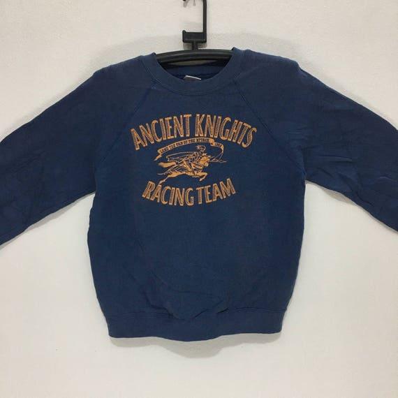 sweaters in KNIGHTS EDWIN team usa crew ANCIENT logo made sweatshirt racing big w4wqPnUx1