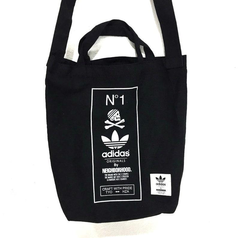 50b1469b96a9 ADIDAS ORIGINALS x NEIGHBORHOOD Tote Bag Cross body Sling nbhd