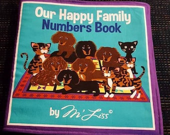 Our Happy Family Numbers Book by M' Liss