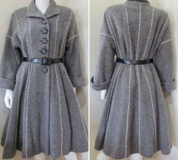 VTG 1950's CHRISTIAN DIOR New York Belted Princess