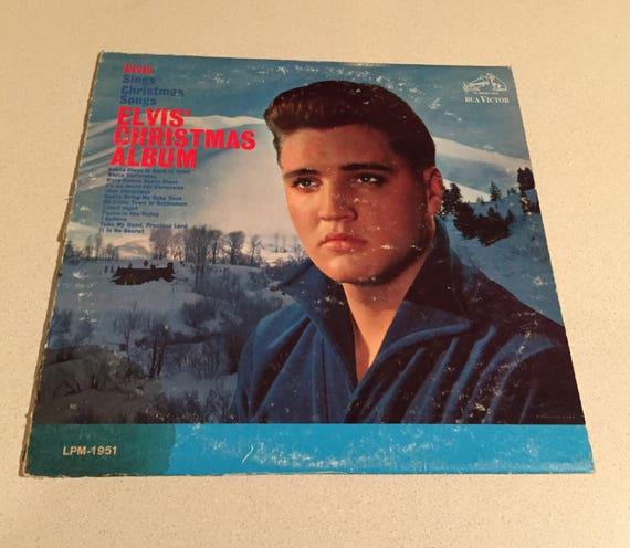 Elvis Christmas Album Vinyl.Collectors Item 1958 Rca Victor Elvis Presley Elvis Christmas Album Vinyl Lpm 1951