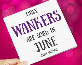 June Birthday Card