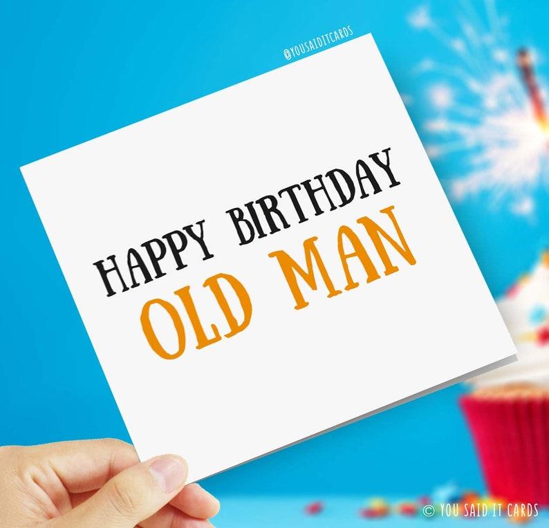 Geburtstag lustig alter mann