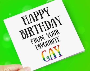 cards birthday Free gay