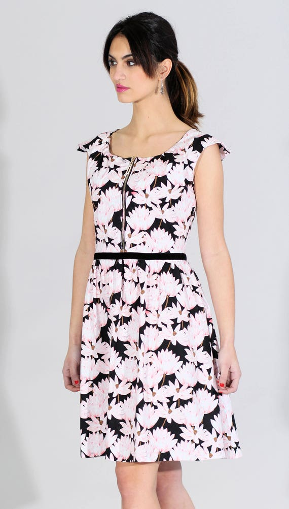 dress dress dress pink short dress Flared black dress summer flowers elegant Sizes dress spring 44 dress dress dress to chic 34 InFWd