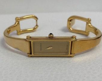 59cc78edb3f Ladies  Gucci 1500L Gold watch