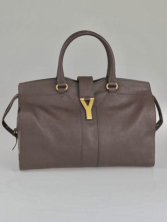 YVES SAINT LAURENT Large Cabas Bag.