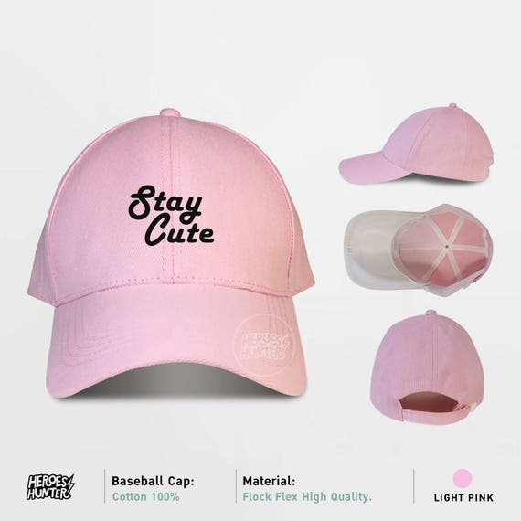 Stay Cute Baseball Caps Stay Cute Caps Tumblr Cap  6b97fccd7ba