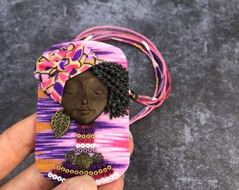 MZHD Life-Long Fashion Necklace Beading ite Bohemian Crystal Flower Tribal Jewelry