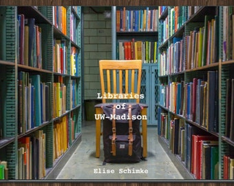 Libraries of UW-Madison Photo Book (5x7, Softcover)