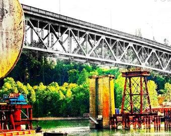Sellwood Bridge, Portland Bridges Art, Fine Art Photography