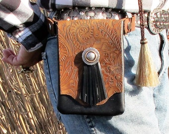 Cowgirl Horse Rider's Embellished Cell Case