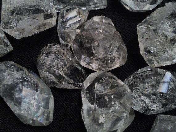 Tabular Herkimer Diamond  With Glass Jar