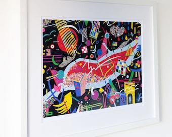 RUPTURE-S - Poster - 30x40 cm