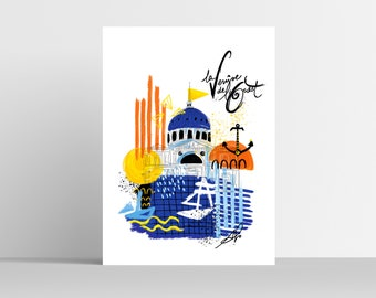 VENICE OF THE WEST - Poster - 30x40 cm