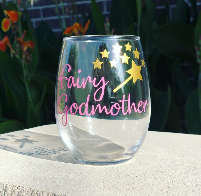 b3b1392e4f1 Gift for Godmother fairy godmother gift gift for godparents   Etsy