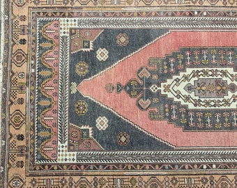"8'5"" x 4'7"" -  Large Vintage Turkish Rug  