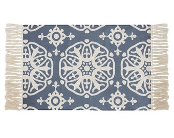 "Block Print Rug  - Malmo  |  2'0"" x 3'7""  