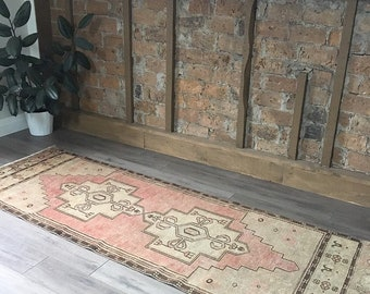 "8'2"" x 4'2"" - Vintage Turkish Runner Rug  