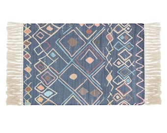 "Block Print Rug  - Gothenburg  |  2'0"" x 3'7""  