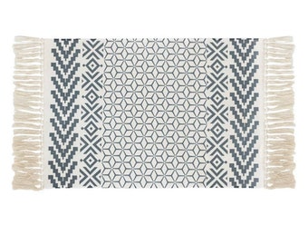 "Block Print Rug  - Stockholm  |  2'0"" x 3'7""  