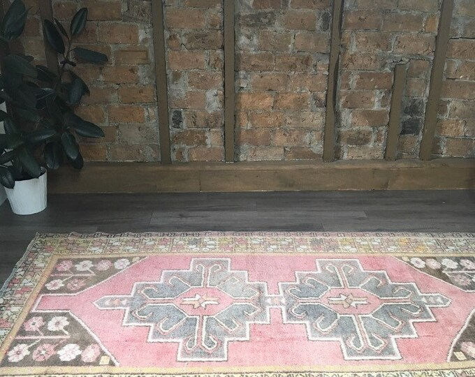 "7'7"" x 4'2"" - Vintage Turkish Rug  