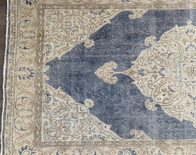 "8'7"" x 4'8"" - Vintage Turkish Area Rug  