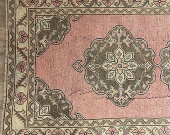 "Vintage Turkish Rug  |  10'8"" x 4'8"" 