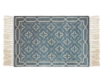 "Block Print Rug  - Bergen  |  2'0"" x 3'7""  