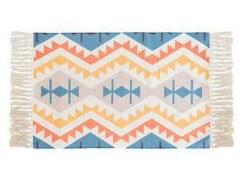 "Block Print Rug  - Aarhus  |  2'0"" x 3'7""  